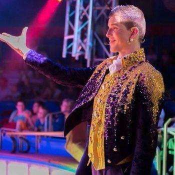 circus spreekstalmeester herman renz kostuum