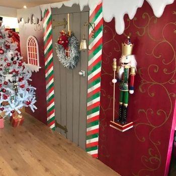 kerst decor kerstboom