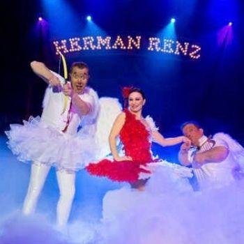 circus herman renz cupido milko clown ballet ballerina circus veren kostuum bedazzled