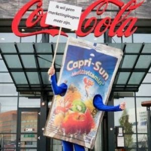 capri-sun drinken coca-cola looppak mascotte reclame bedazzled